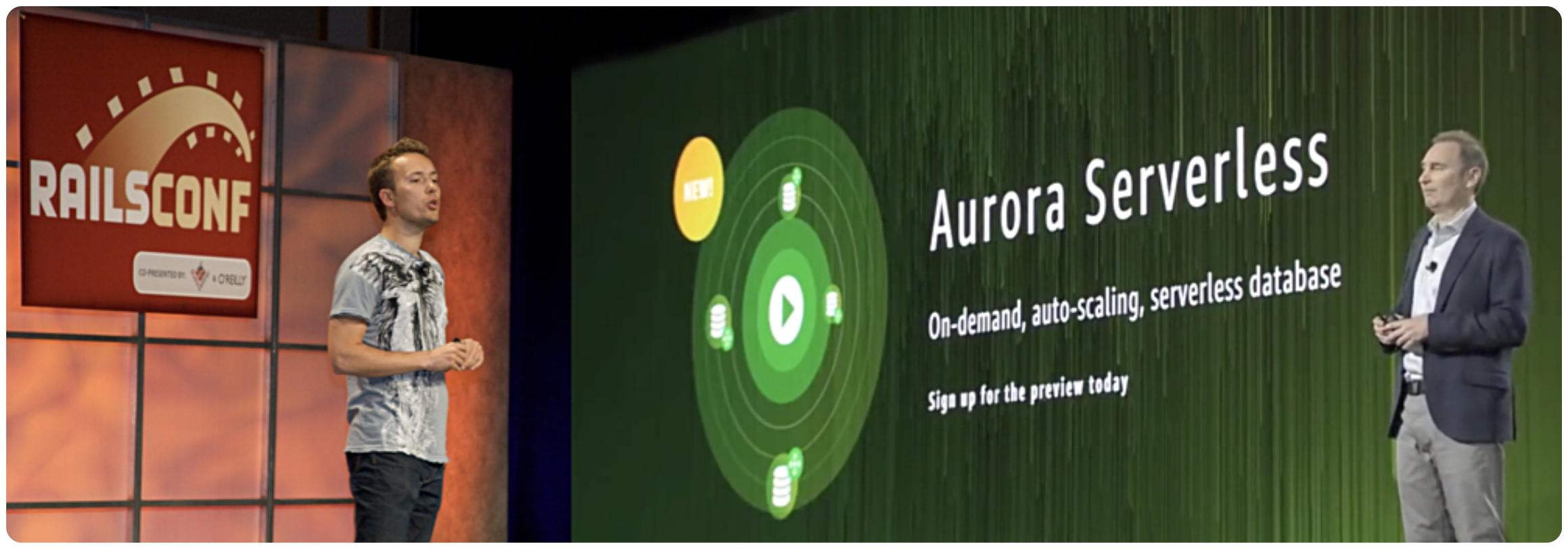 Aurora Serverless on Rails
