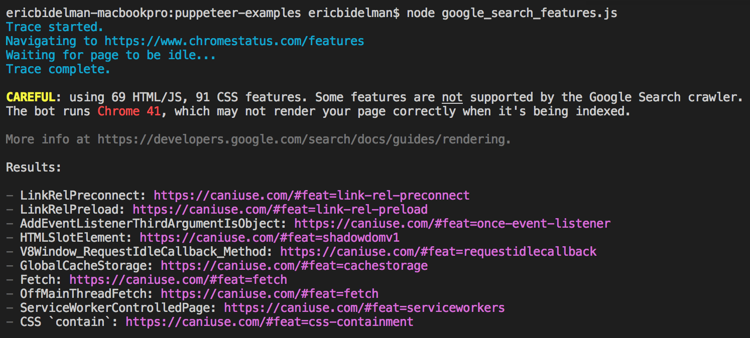 GitHub - GoogleChromeLabs/puppeteer-examples: Use case