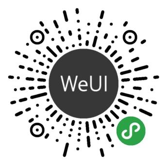 WeUI for 小程序