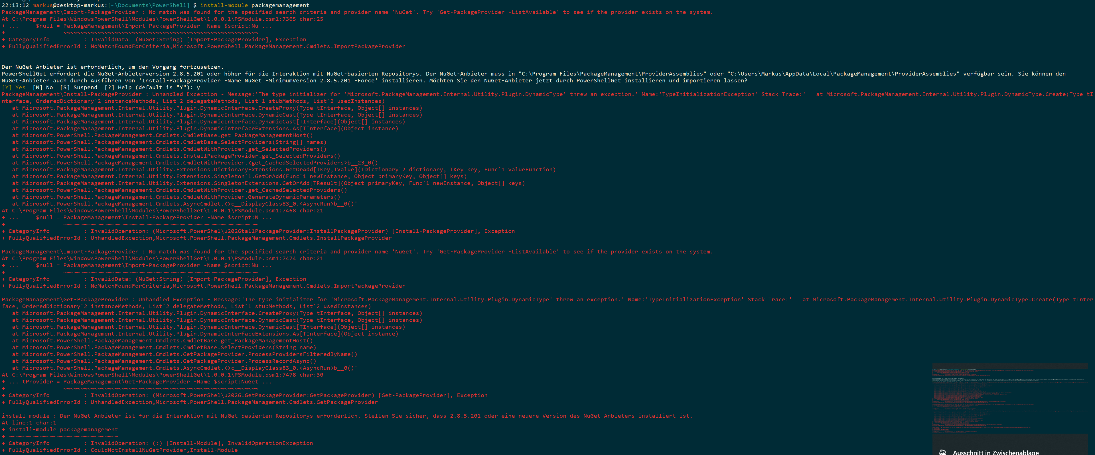 PowerShell Core 6 1 1 x64/x86 side by side installation
