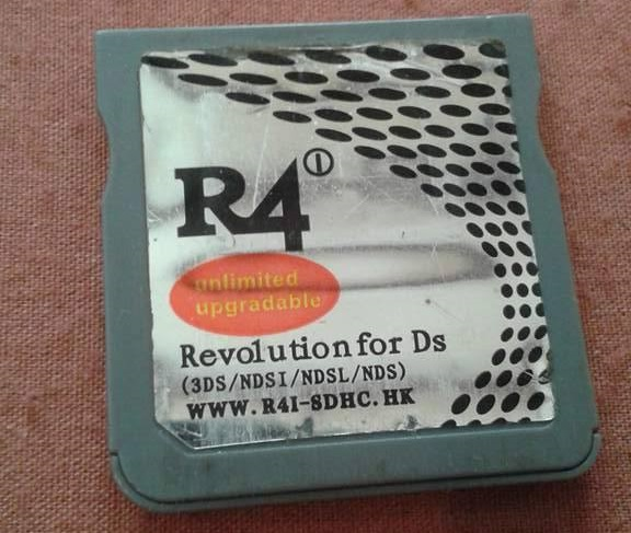 R4i unlimited upgradable Revolution for Ds (WWW R4I-SDHC HK