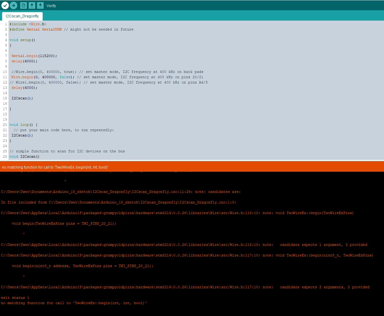 I2C issue · Issue #35 · GrumpyOldPizza/arduino-STM32L4 · GitHub