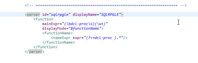 SQLRPGLE Source not getting tokened · Issue #4 · worksofliam