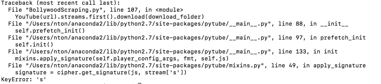Key Error in mixing py line 49 · Issue #347 · nficano/pytube · GitHub