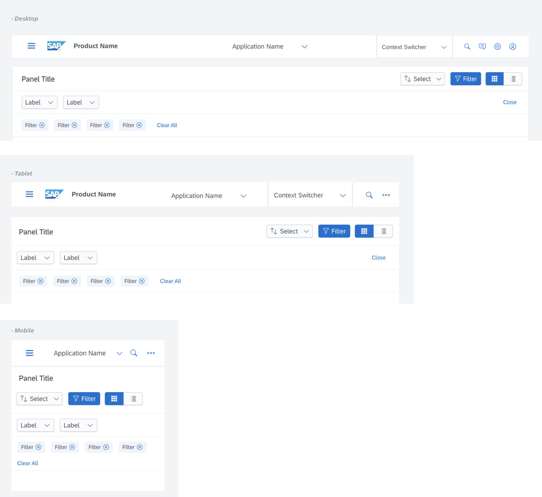 Design: Responsive toolbar · Issue #557 · SAP/fundamental