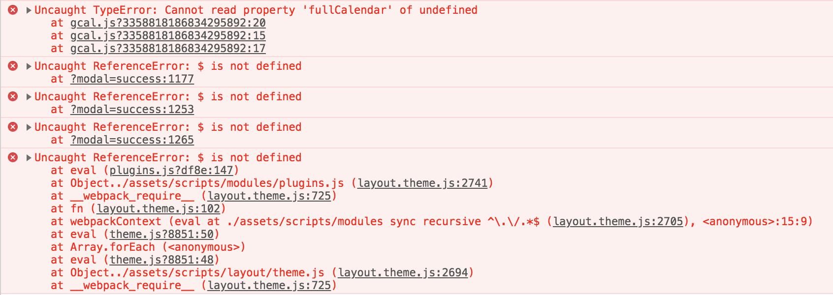 Webpack Load Order Breaks JS Dependencies · Issue #789 · Shopify