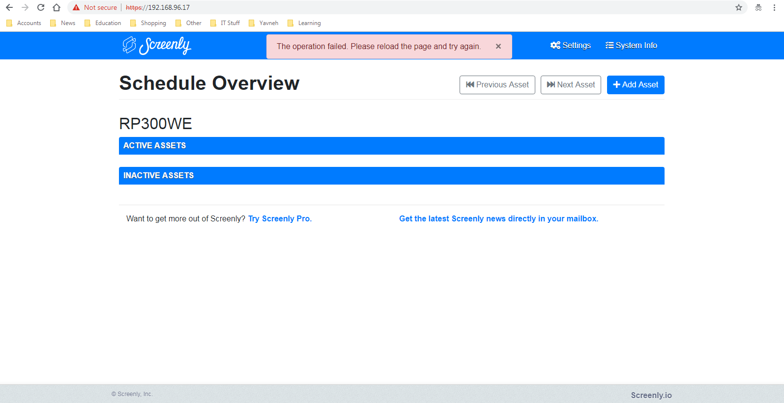 Doesnt load nearpod website? · Issue #979 · Screenly/screenly-ose