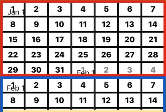 Calendar from scratch  – JTAppleCalendar Tutorials and