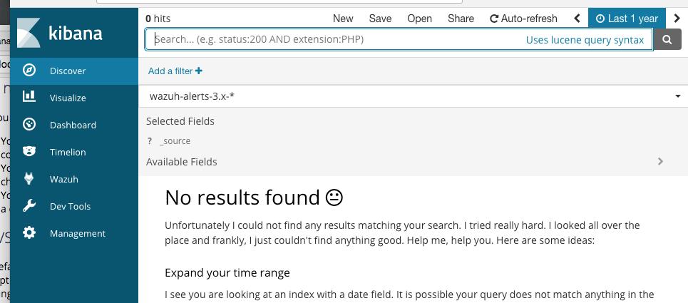 No Alert Data After Installing Wazuh 3 x · Issue #264 · wazuh/wazuh