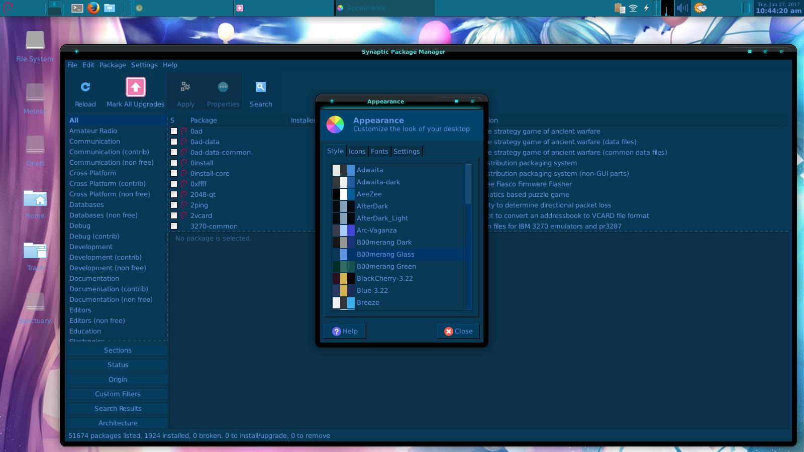 XFCE 4 12 taskbar color doesn't match theme and XFCE taskbar