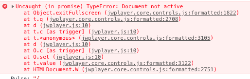 jwplayer fullscreen error · Issue #3234 · jwplayer/jwplayer · GitHub