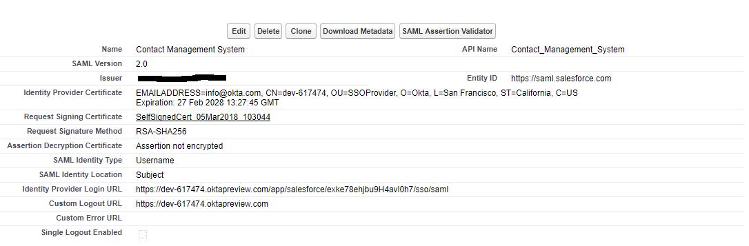 unable to login in salesforce using okta sso · Issue #402 · okta