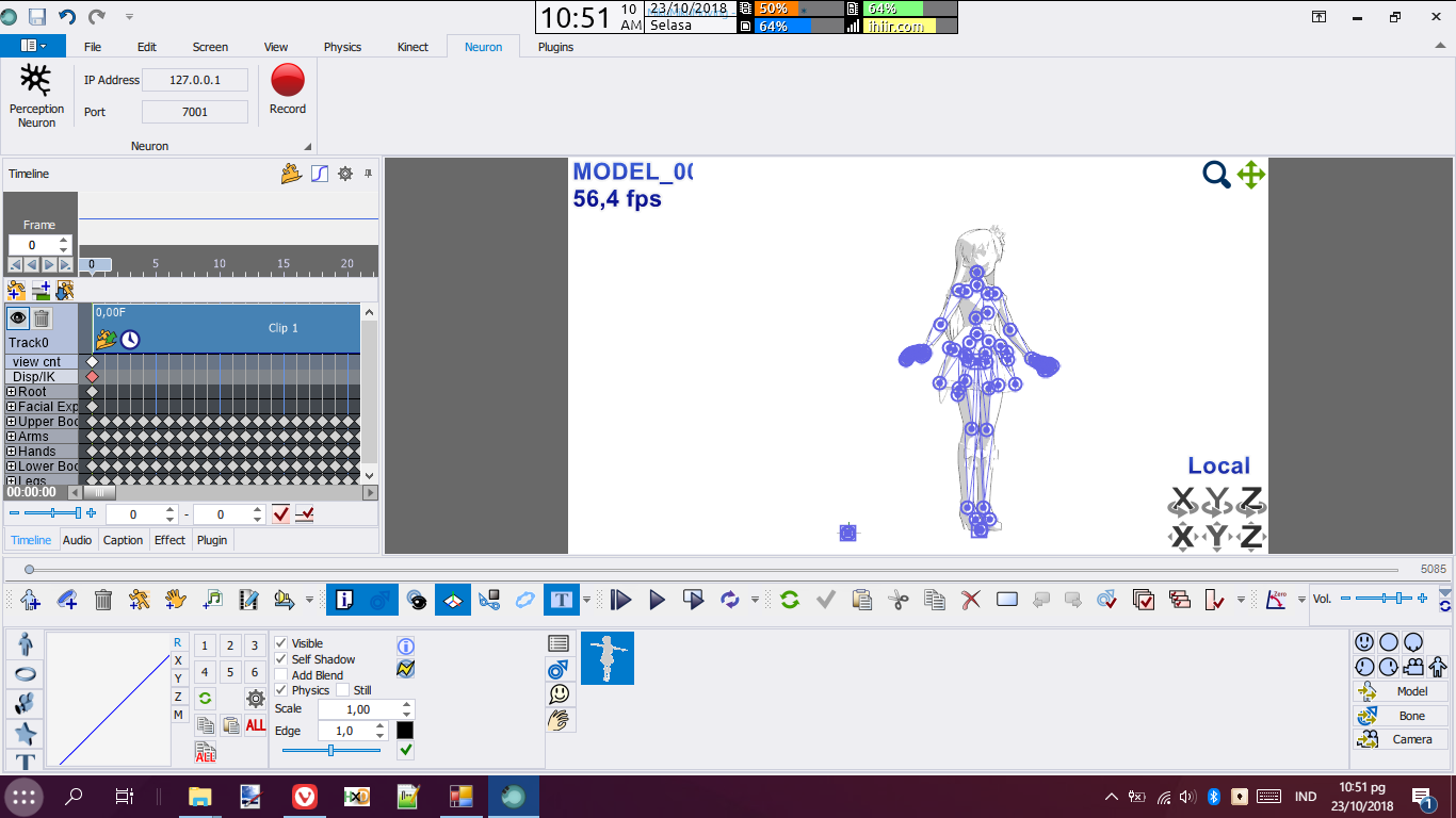 MillionDance generated model/motions scaling problem · Issue #6