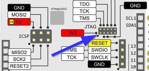 Connecting Atmel ICE to Arduino Due · UMSATS/Sandbox Wiki