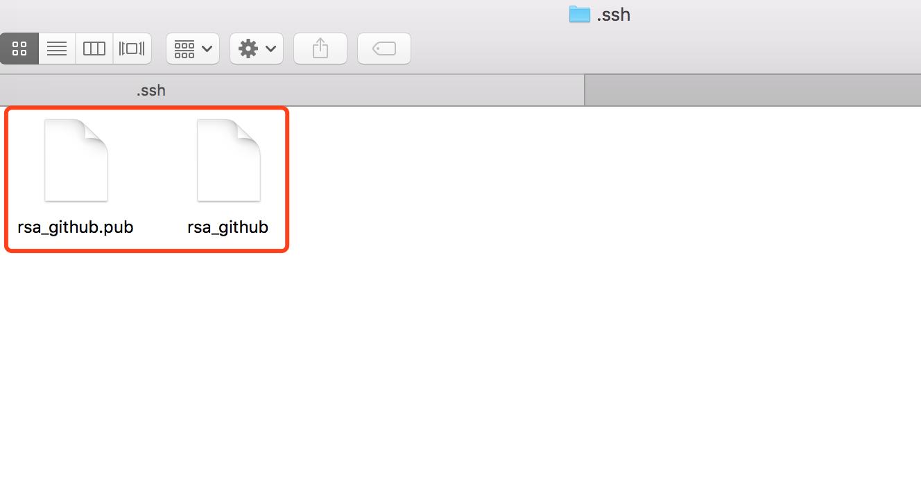 rsa_github和rsa_github.pub密钥对