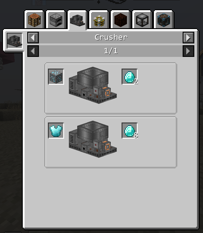 1 12] [CraftTweaker] Crusher not adding Custom Recipes with the same