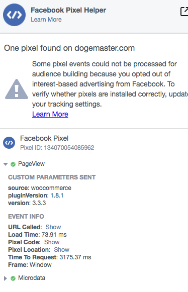 Pixel Not Loading On Any Page · Issue #307 · facebookincubator