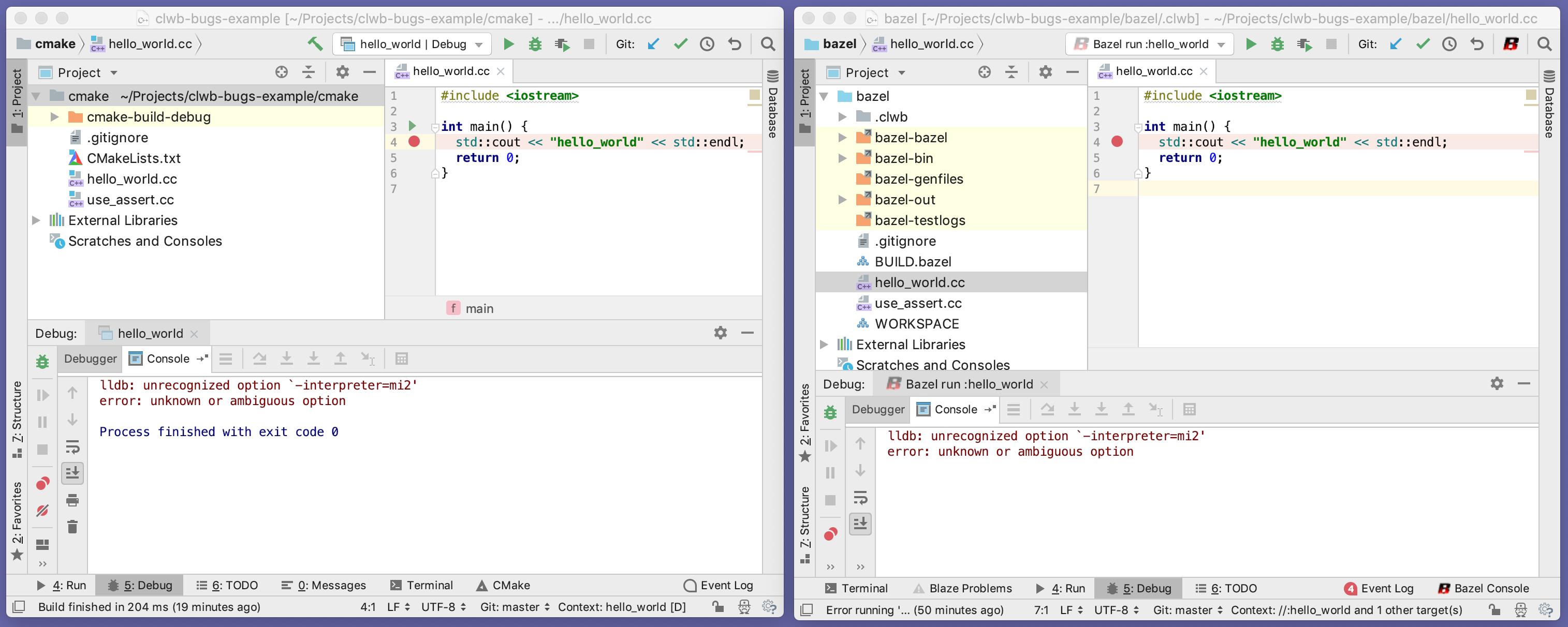 cmake_vs_bazel-debugger_custom_gdb