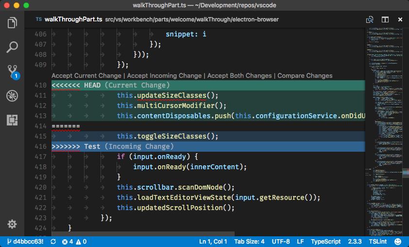 Git: Use VS Code as merge editor · Issue #5770 · microsoft