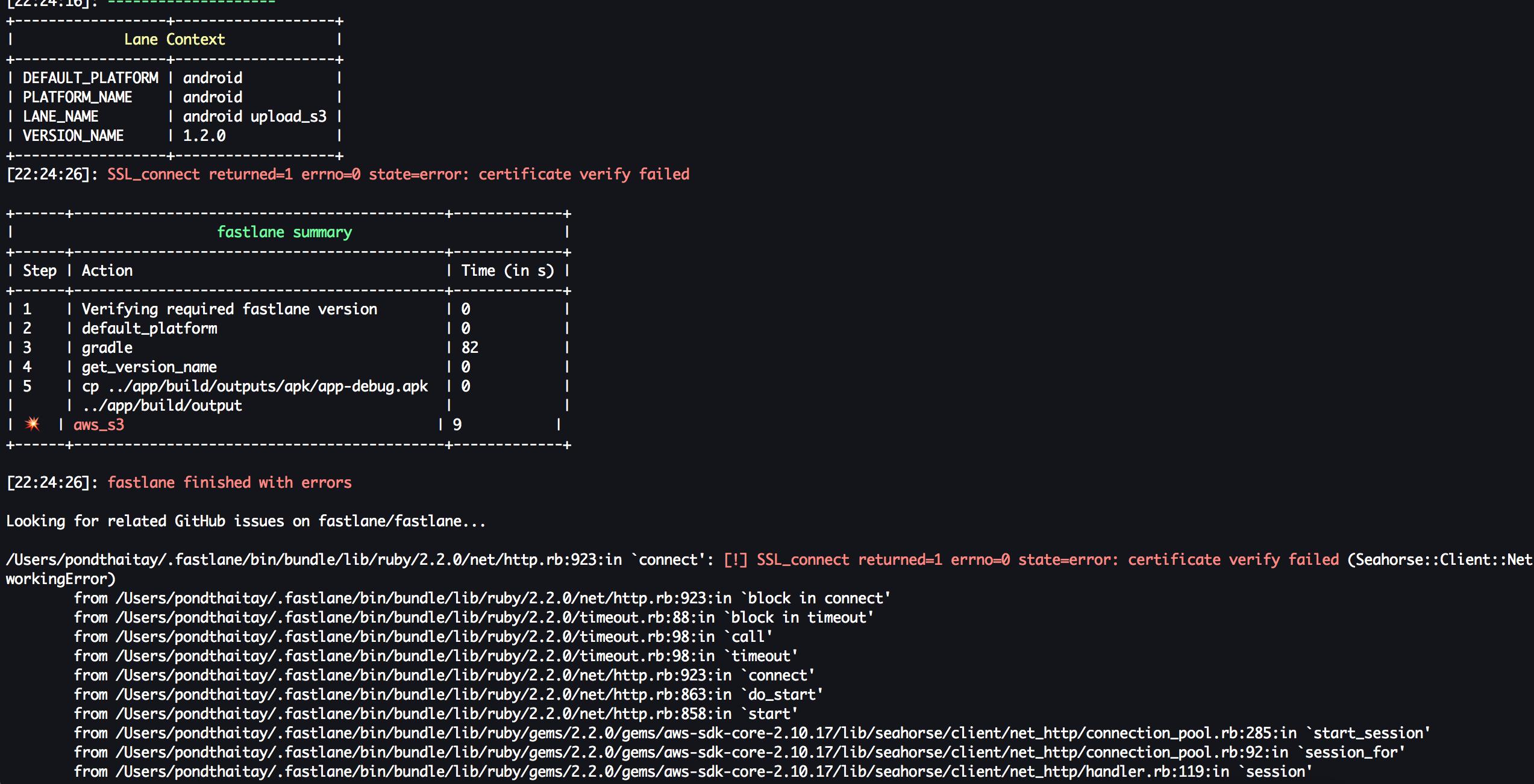 SSL_connect returned=1 errno=0 state=error: certificate