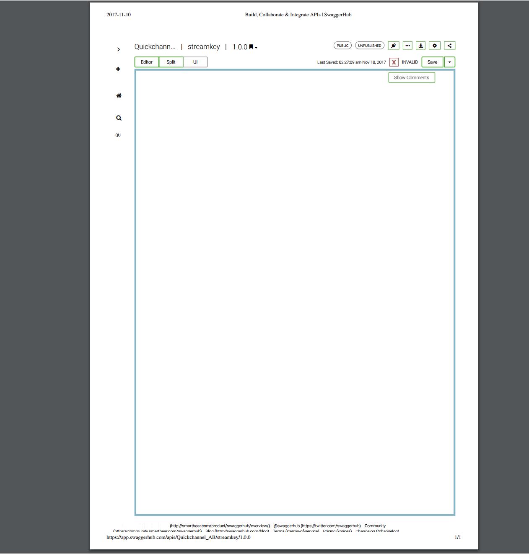 Print the swagger API webpage · Issue #1407 · OAI/OpenAPI