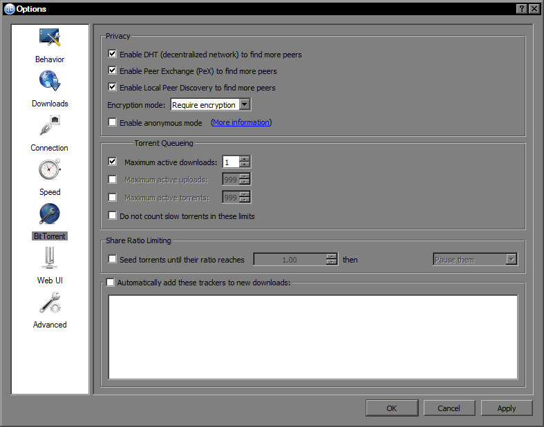Wishlist]Overhaul Torrent Queuing Feature · Issue #6966