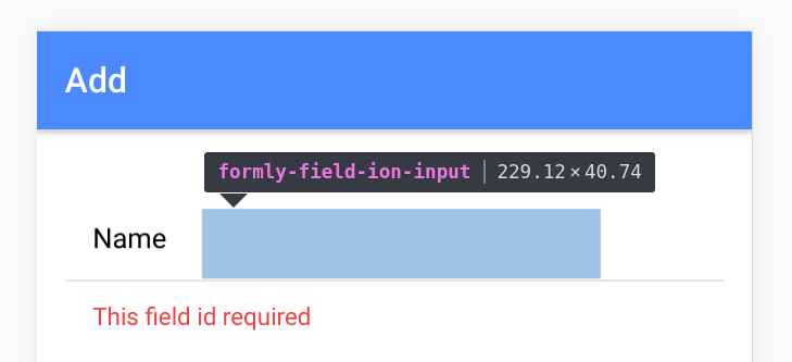 Ionic 4: Input Width and TextArea Issues with Fixes · Issue