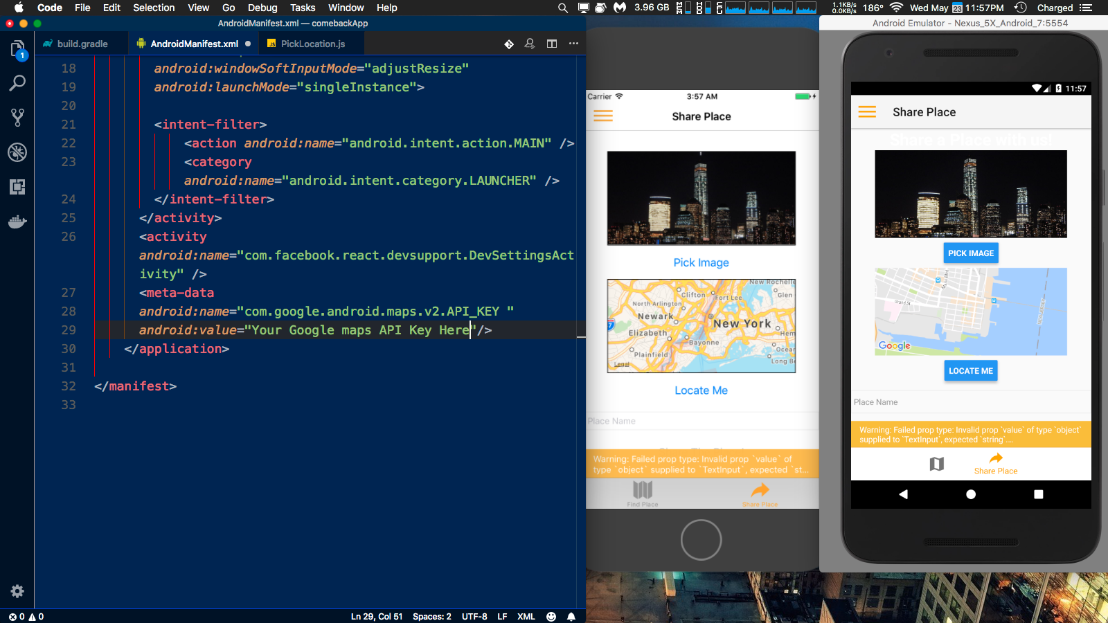 Android] Blank map · Issue #176 · react-native-community/react