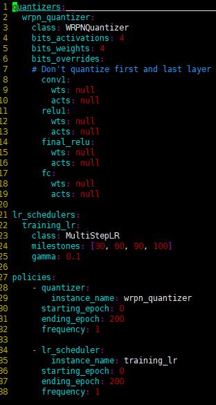 Post Training Quantization Tensorflow