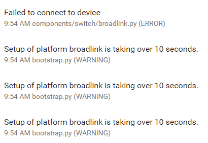 Broadlink RM completely stop working on 0 75 3 · Issue