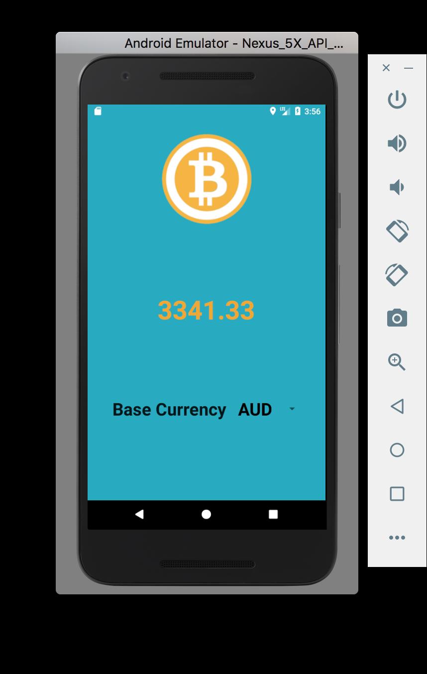 bitcoin ticker app)