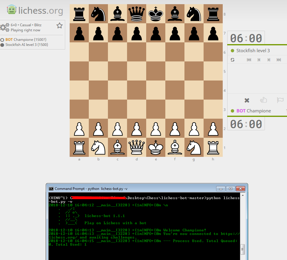 Bot does not play · Issue #149 · careless25/lichess-bot · GitHub