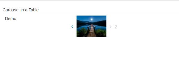react-carousel-table 1 0 0 on npm - Libraries io