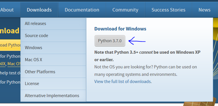 Prefer 64-bit CPython for Windows downloads · Issue #1299