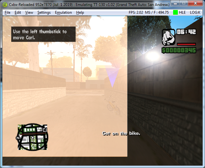 Grand Theft Auto: San Andreas [54540082] · Issue #786 · Cxbx