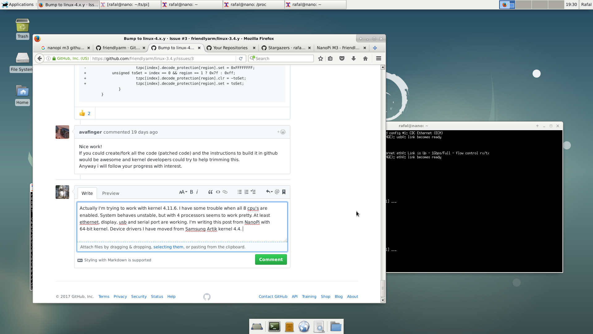 Bump to linux-4 x y · Issue #3 · friendlyarm/linux-3 4 y · GitHub