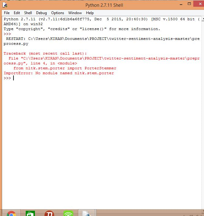 No module found error  Can you please tell the steps to be