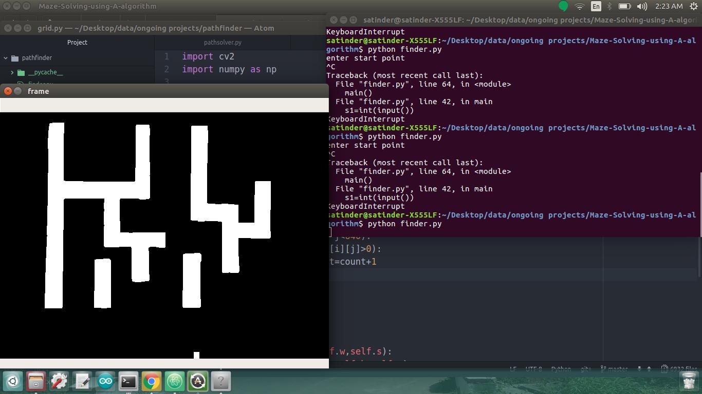 GitHub - satinder147/Maze-Solving-using-A-star-algorithm: In