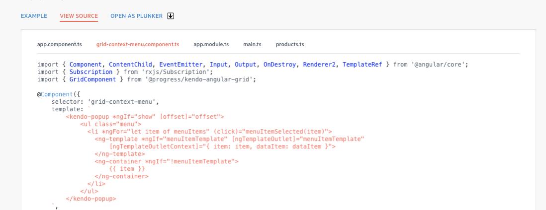 Example not working] CellClickEvent never returns type \'contextmenu ...