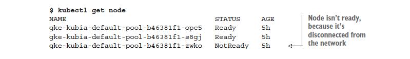 GCE node info