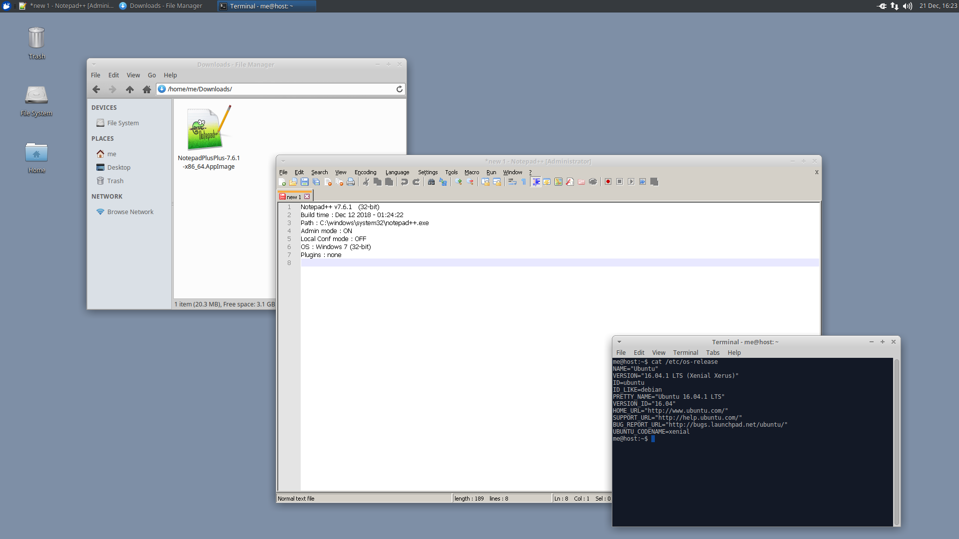 Provide AppImage for Linux · Issue #5162 · notepad-plus-plus/notepad