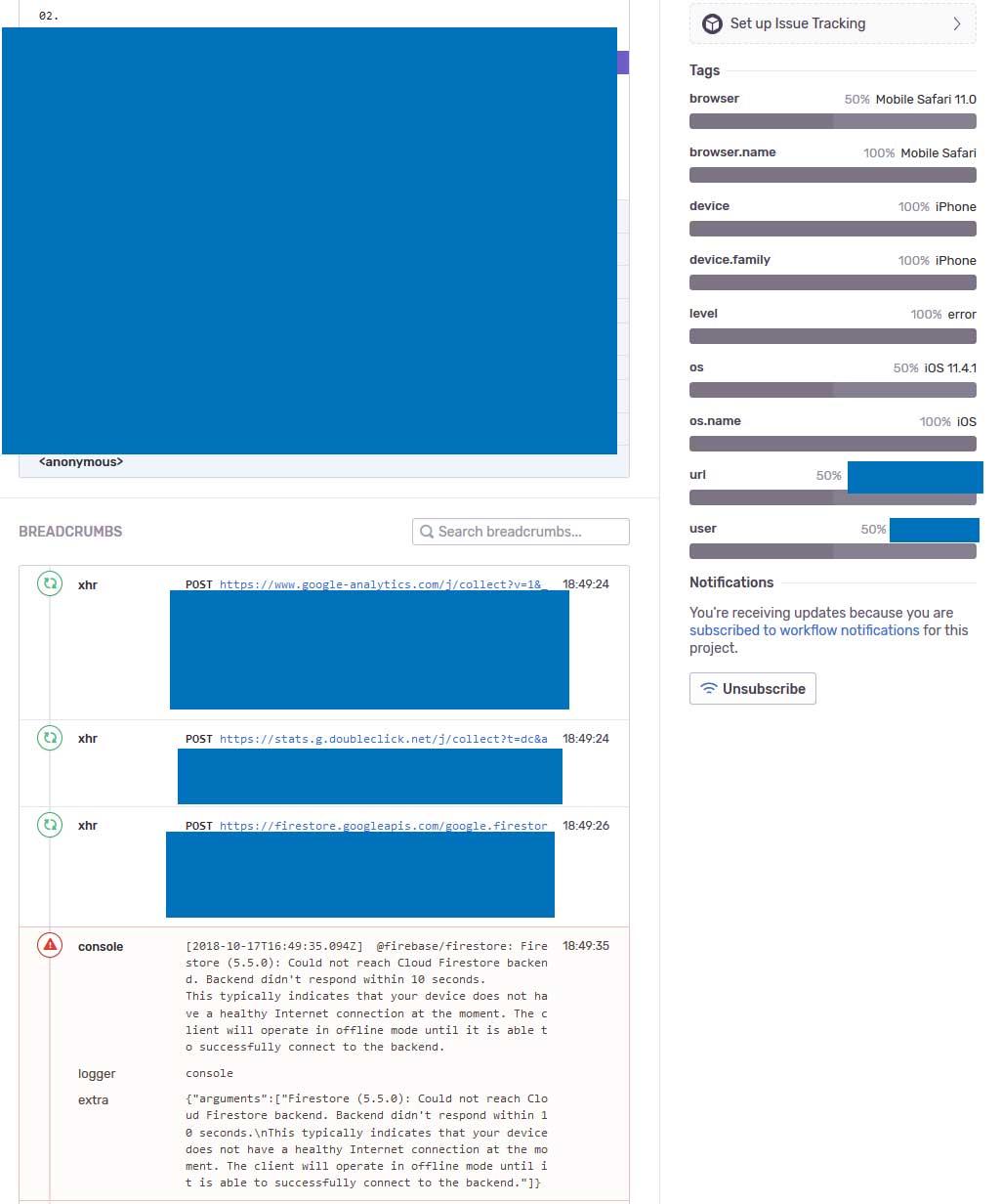 Kaspersky antivirus breaks Firestore (