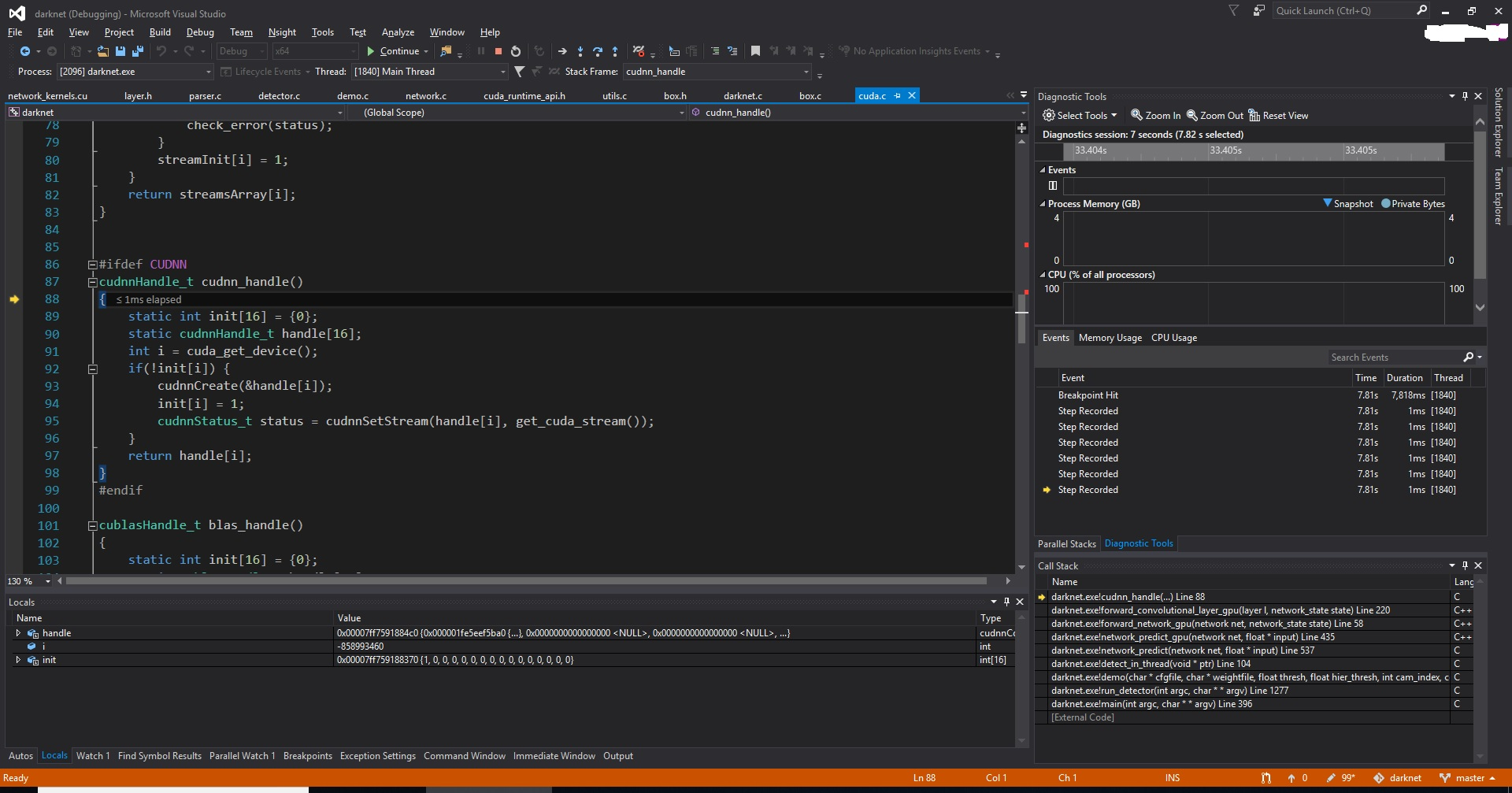 VSCode does not allow to add Breakpoint for Cuda code in cpp