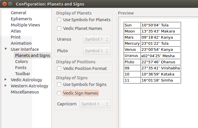 Preview not updated in Configuration/User Interface/Planets