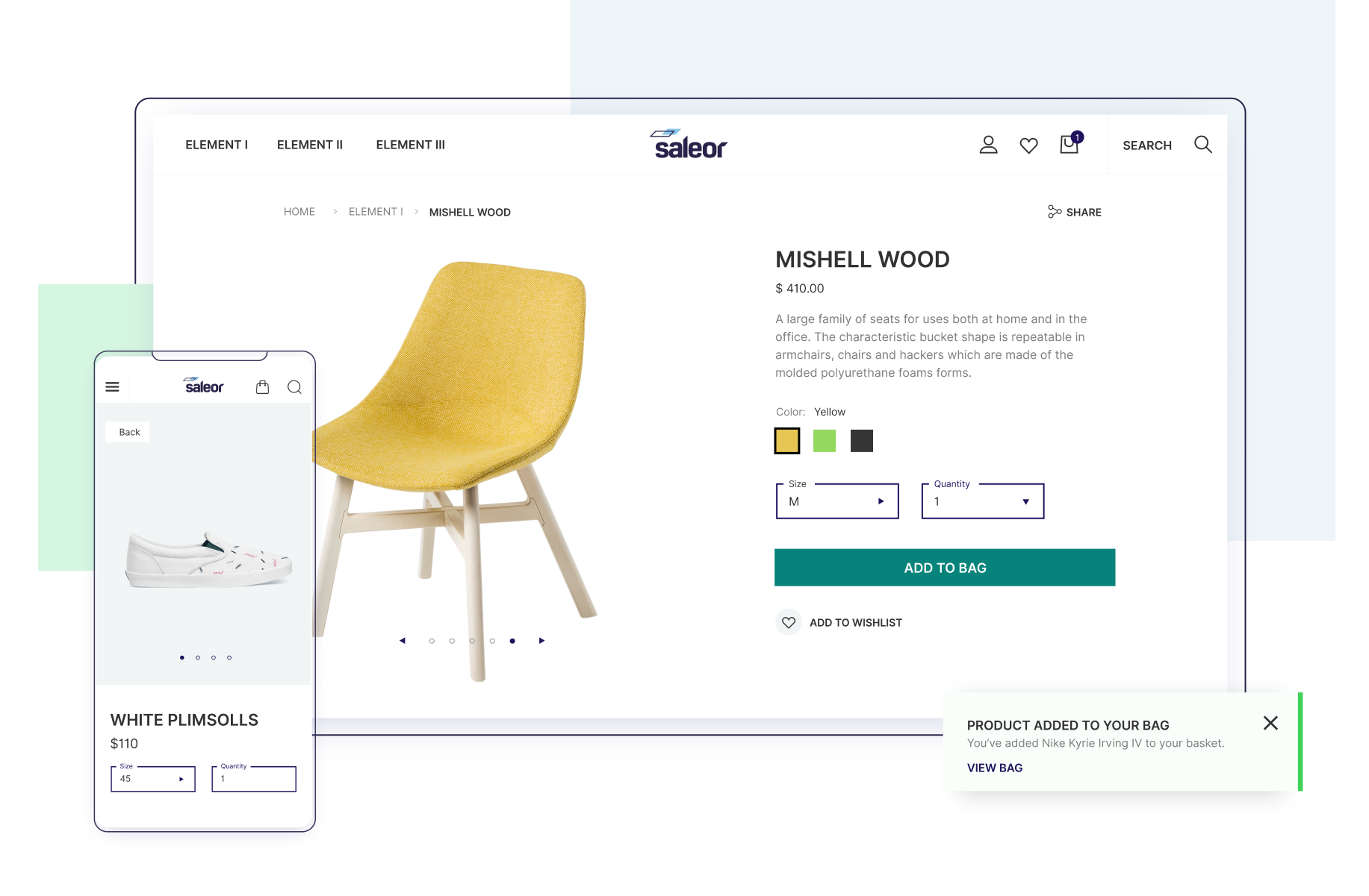 Saleor Storefront - React-based PWA e-commerce storefront