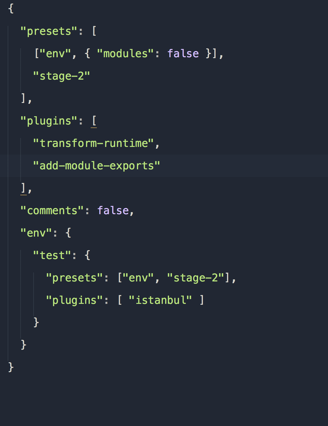 babel-preset-env not support the module exports,what should