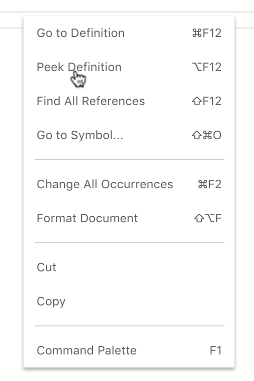 context menu items no longer have hover effects · Issue