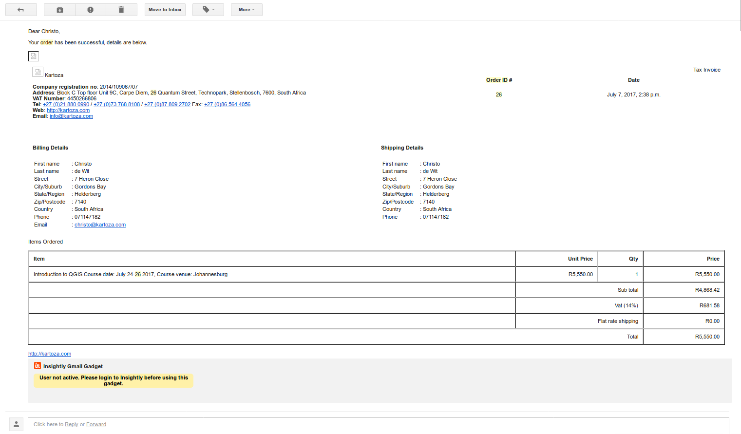 great deals hot sales sells Kartoza course invoice PDFs · Issue #205 · kartoza/docker ...