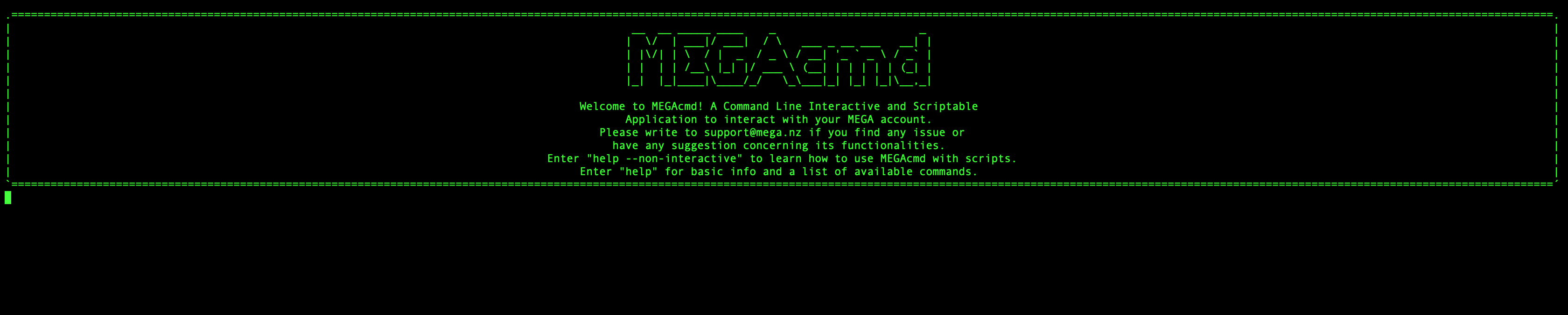 mega-cmd stop working periodically · Issue #122 · meganz