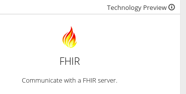 Remove Tech Preview banner from OData and FHIR connector